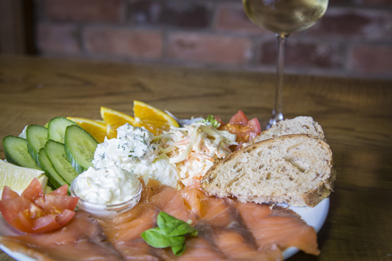 Smoked Salmon with Citrus Mayonnaise